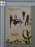 POSTCARD - FLEETWOOD MAC -  LP'S COLLETION -   2 SCANS  - (Nº45172) - Music And Musicians