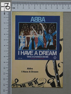 POSTCARD - ABBA -  LP'S COLLETION -   2 SCANS  - (Nº45177) - Music And Musicians