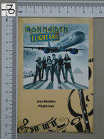 POSTCARD - IRON MAIDEN -  LP'S COLLETION -   2 SCANS  - (Nº45182) - Music And Musicians