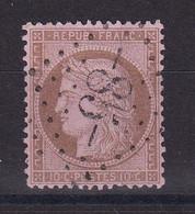 D229 / CERES N° 58 OBL COTE 18€ - 1871-1875 Cérès