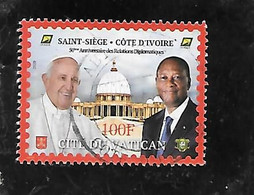 TIMBRE OBLITERE DE COTE D'IVOIRE DE 2020 - Costa D'Avorio (1960-...)