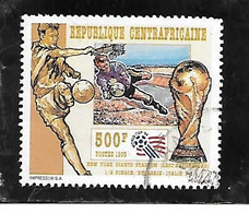 TIMBRE OBLITERE DE CENTRAFRIQUE DE 1995 N° MICHEL 1669 - Repubblica Centroafricana