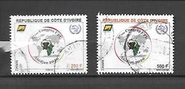TIMBRE OBLITERE DE COTE D'IVOIRE DE 2019 - Costa D'Avorio (1960-...)