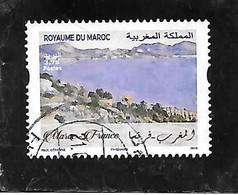 TIMBRE OBLITERE DU MAROC DE 2019 - Marocco (1956-...)