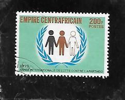 TIMBRE OBLITERE DE CENTRAFRIQUE DE 1978 - Repubblica Centroafricana