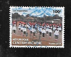 TIMBRE OBLITERE DE CENTRAFRIQUE DE 2019 - Repubblica Centroafricana