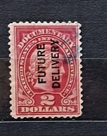 09 - 21 // USA - 2$ - Overprint Future Delivery - Documentary - Varietà, Errori & Curiosità