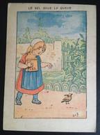 Illustrateur Job Enfant Sel Oiseau Chocolat Berthelot Nantes - Sonstige