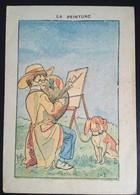 Illustrateur Job  Peinture Peintre Chien Chocolat Berthelot Nantes - Sonstige