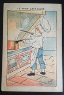 Illustrateur Job Gâte Sauce Cuisinier Marmiton   Chocolat Berthelot Nantes - Sonstige