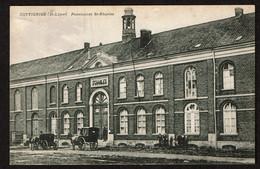 Dottignies - St-Léger - Pensionnat St-Charles - Animée - Calèches - Circulée - Edit. R. Bové - Voir Scans - Mouscron - Moeskroen