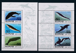 North Korea - 1982 - Whale - Yv Bf 111/12 - Balene