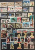 USA : SELECTION OF STAMPS   LOT 10 - Sammlungen