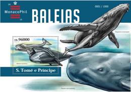 Saint Thomas 2015 Baleines Whales MNH - Balene
