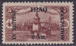 IRAQ 1918 SG #1 ¼a On 5pa MH - Iraq