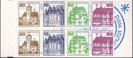 Berlin,1980, MH 12c **, Burgen Und Schlösser - Booklets