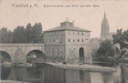 Frankfurt - Brückenmühle Und Dom - Ca. 1935 - Frankfurt A. Main