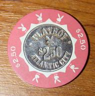 """Jeton De Casino """"Playboy - 2$50 - Atlantic City"""" Casino Chip - Casino"""