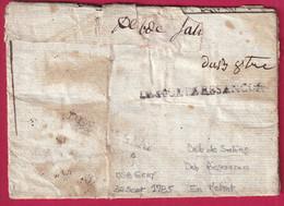 TRIPLE DEBOURSE BESANCON DOUBS GRAY HAUTE SAONE SALINS JURA 1785 - 1701-1800: Precursori XVIII