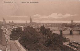 Frankfurt Main - Mit Sachsenhausen - 1909 - Frankfurt A. Main