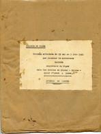 Jean Rapenne Gouverneur Du Niger.Journal De Marche Du 15 05 Au 03 06 1940.Naiamey.Tahoua.Birni.N'Konni & Dosse. - Altri