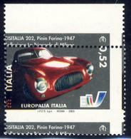 Varietà - 2003 Europalia € 0,52 Con Dentellatura Fortemente Spostata In Entrambi I Sensi MNH** - Varietà E Curiosità