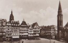 Frankfurt - Römerberg M. Nikolaikirche - Ca. 1955 - Frankfurt A. Main