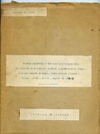 Jean Rapenne Gouverneur Du Niger.Journal De Marche Du 01 06 Au 08 06 1939.Dosso.Birni-N'Konni Maradi Zinder Goure Tanout - Altri