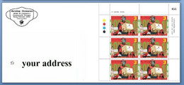 Thailand Covid Stamps (World Post Day 2021) Send To Your Postal Address (after 9/10) - Thailand