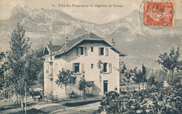 Villa Des Fougères Et Les Aiguilles De Varens - édit Grosset N° 67 Circulée Le Fayet (74 Haute Savoie) - Sonstige Gemeinden