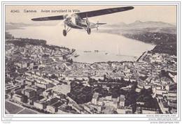 Genève.- (Suisse) Avion Survolant La Ville - GE Geneva