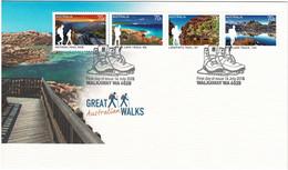 Australia 2015 Great Walks FDC - Primo Giorno D'emissione (FDC)