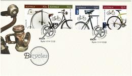 Australia 2015 Bicycles FDC - Primo Giorno D'emissione (FDC)