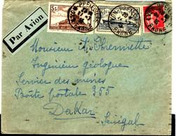 52535 - Par Avion Pour Le SENEGAL - 1927-1959 Brieven & Documenten