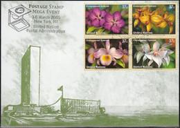 UNO NEW YORK 2005 Mi-Nr. 79 Grüne Karte - Show Card  Mit Erinnerungsstempel New York - Briefe U. Dokumente