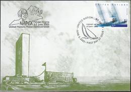 UNO NEW YORK 2005 Mi-Nr. 80 Grüne Karte - Show Card  Mit Erinnerungsstempel McLean - Briefe U. Dokumente