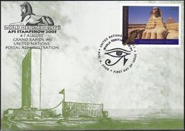 UNO NEW YORK 2005 Mi-Nr. 81 Grüne Karte - Show Card  Mit Erinnerungsstempel Grand Rapids - Briefe U. Dokumente