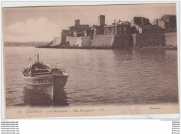 ANTIBES LES REMPARTS BARQUE CARNOT TBE - Antibes - Les Remparts