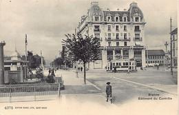 BIENNE BIEL (BE) Bâtiment Du Contrôle - Ed. Burgy 4275 - BE Berne
