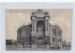 Ukraine - ODESSA Odesa - Municipal Theater - Ed. Assedoretfegs 36 - Ukraine