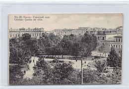 Ukraine - ODESSA Odesa - City Gardens - Ed. Assedoretfegs 39 - Ukraine