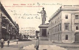 Ukraine - ODESSA Odesa - Duke Of Richelieu Statue - Ed. Scherer, Nabholz And Co. 23 - Ukraine