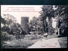 50   Cherbourg, Le Parc Emmanuel Liais Et La Tour - Cherbourg