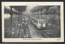 Carte P ( Chemin De Fer Decauville / Atelier De Montage Des Wagons ) - Altri