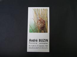 Buzin Folder Peintre Animalier - 1985-.. Birds (Buzin)