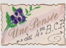 Cpa Fantaisie . Une Pensée Du 4 ème BCP  (Bataillon De Chasseurs à Pied ) - Regiments