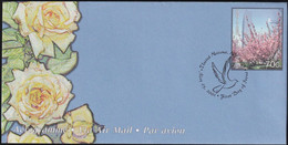 UNO NEW YORK 2001 Mi-Nr. LF 18 Ganzsache Luftpostfaltbrief Gestempelt EST - Luftpost
