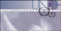 UNO NEW YORK 2008 Mi-Nr. LF 22 Ganzsache Luftpostfaltbrief Gestempelt EST - Luftpost