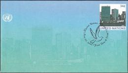 UNO NEW YORK 2001 Mi-Nr. U 13 A Ganzsache Umschlag Gestempelt EST - Briefe U. Dokumente