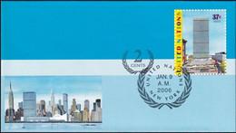 UNO NEW YORK 2006 Mi-Nr. U 16 A Ganzsache Umschlag Gestempelt EST - Briefe U. Dokumente